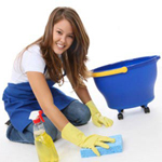 comercial maid cleaning